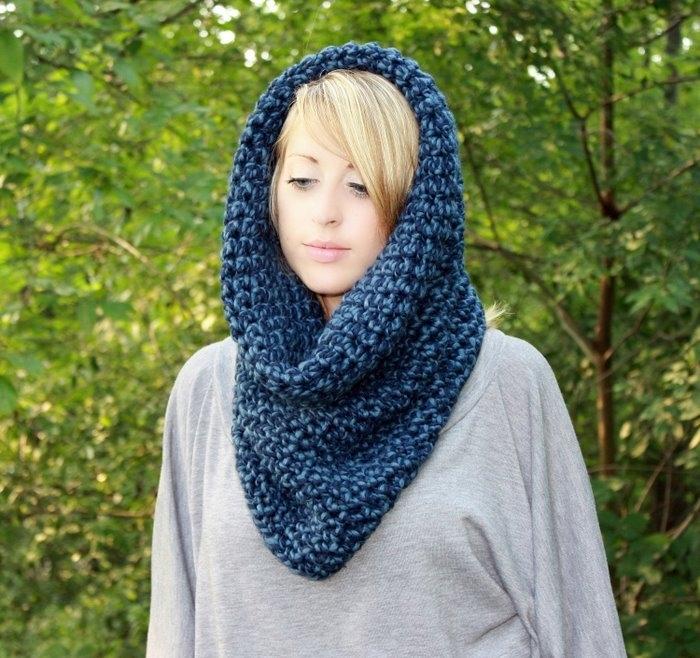 Снуд - это, так называемый, шарф-труба.  Это зависит, в первую очередь, от того, что в результате хотите получить...