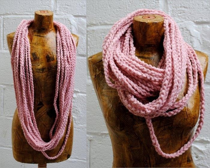 Способы вязания шарфов 44