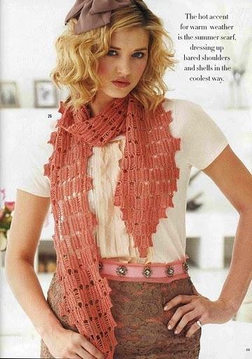 Популярный журнал по вязанию представляет модели женской одежды.