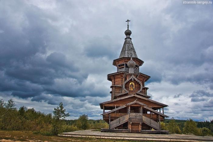 Пеший путь к святому источнику, через историю, на встречу с Сергием
