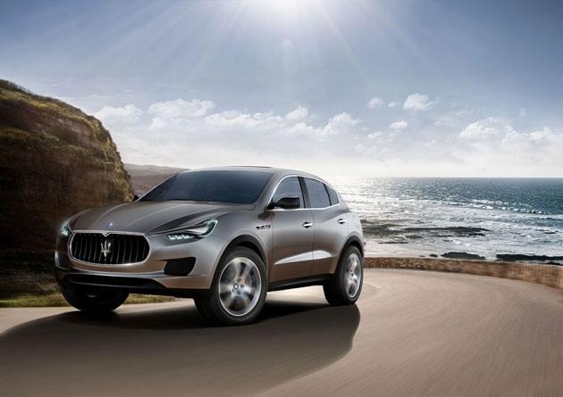 Maserati представил первый в истории марки внедорожник Kubang, который пойдет в серию.