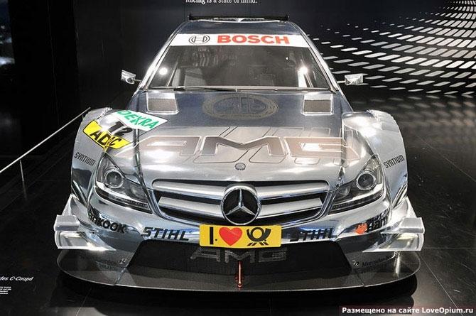 Гоночный автомобиль от тюнинг-ателье AMG: