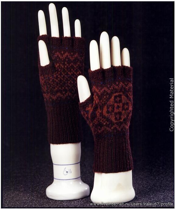 KNITTING  MITTENS 针织手套 - 编织幸福 - 编织幸福的博客