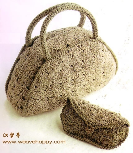 Описание: Схема вязания крючком сумки - Схемы.