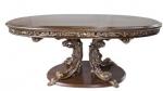 Резной обеденный стол в стиле модерн