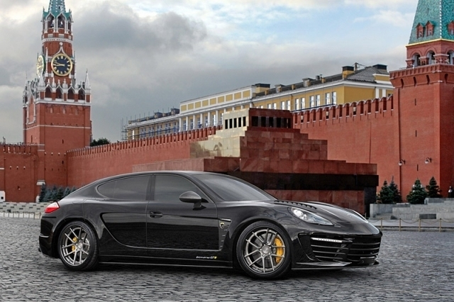 The cost of the Russian Porsche Panamera not reported