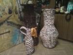 вазы ждут морилку.... и покраску...