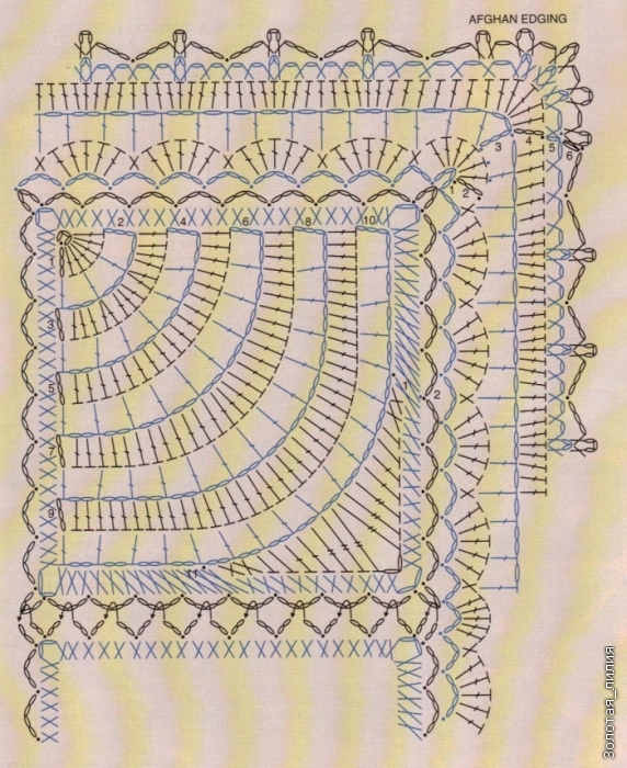 格纹图案与扇形 - maomao - 我随心动