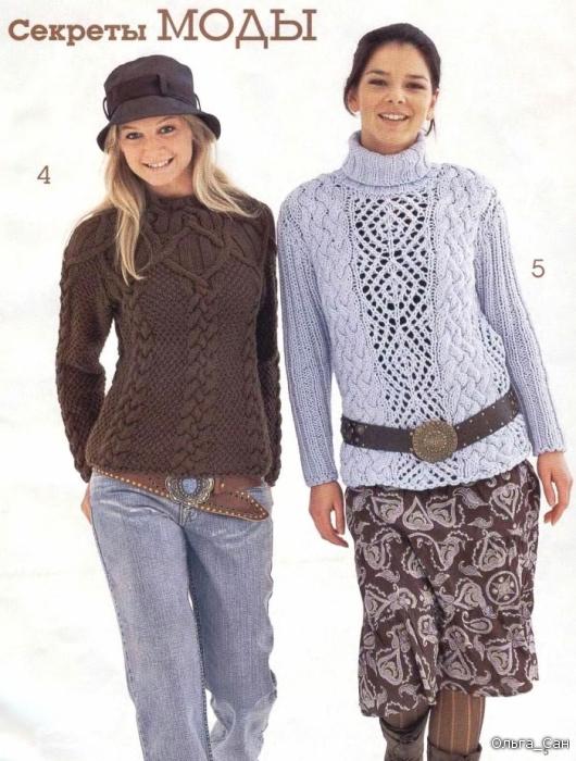 модные кофты вязание спицами размер 54.