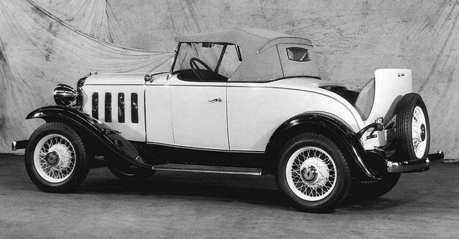 Shev Confederate BA Standard Sport Roadster 1932 release.