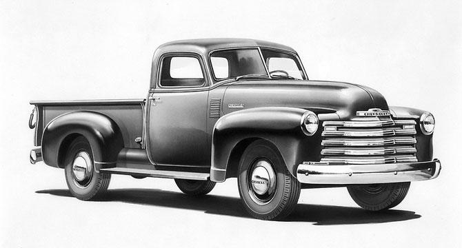 Chev Pickup1948 3100 model year.