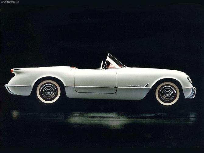 Chevrolet Corvette 1953 release.