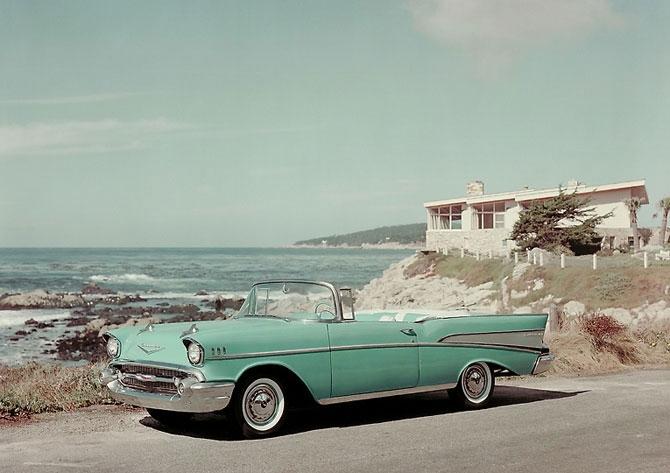 Chevrolet Bel Air 1957 release.