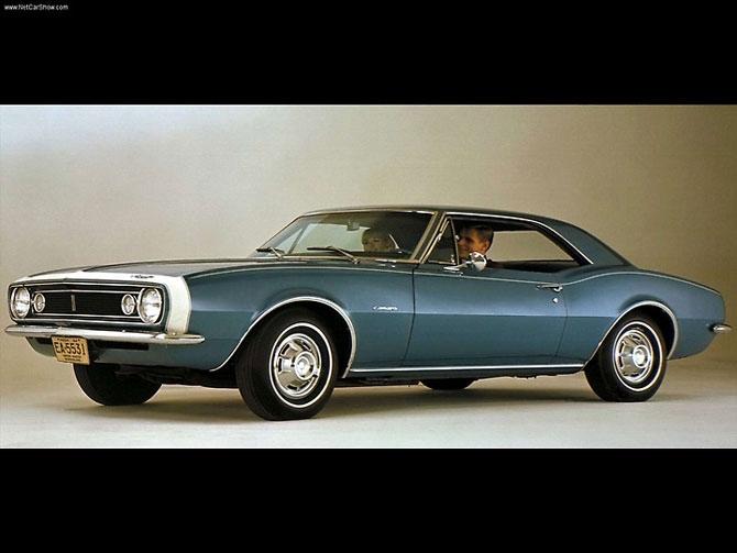 Chevrolet Camaro 1967 release.