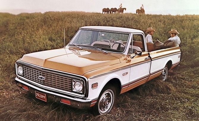 Chevy Cheyenne Pickup 1971 release.