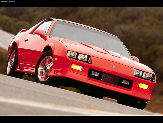 Chevrolet Camaro 1988 release.