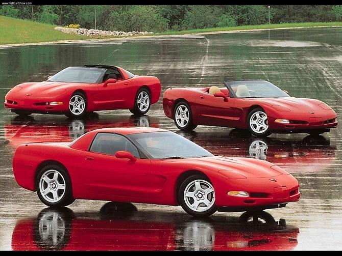 Chevrolet Corvette C5 1997 release.