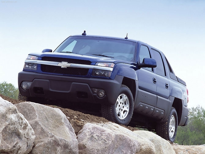 Chevrolet Avalanche 2002's.