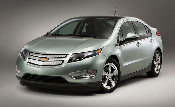 Chevrolet Volt 2011 release.