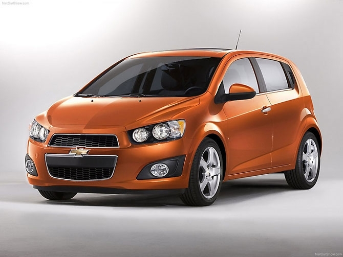 Chevrolet Sonic, which is scheduled for 2012.