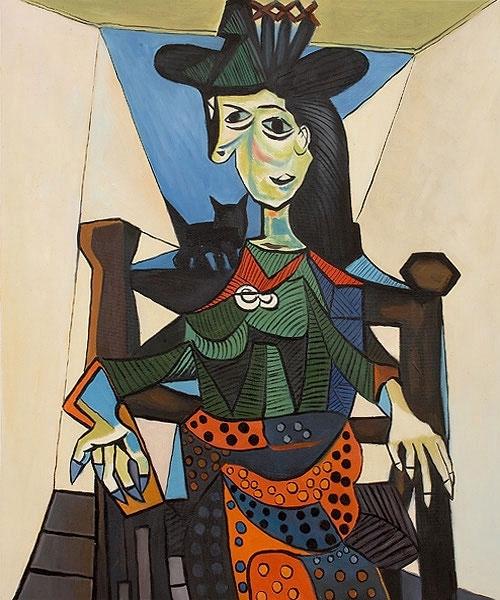 6. Густав Климт — Портрет Адели Блох-Бауэр II (1912) Продана за 87.9 млн. долларов в 2006 году