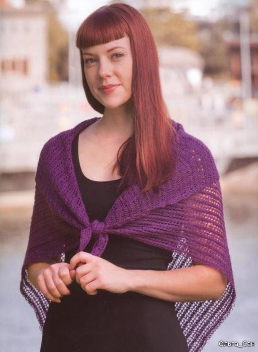 Вязание на спицах модели и схемы вязания
