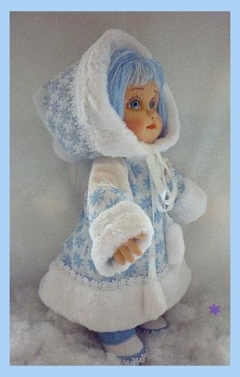 Снегурочку из куклы своими руками