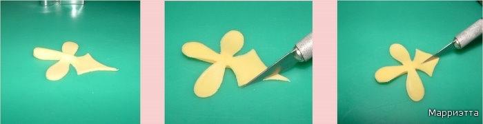 свой цитатник или сообщество!  ЛЕПИМ ОРХИДЕЮ.  Лепка из сахарной мастики.  Размещено с помощью приложения.