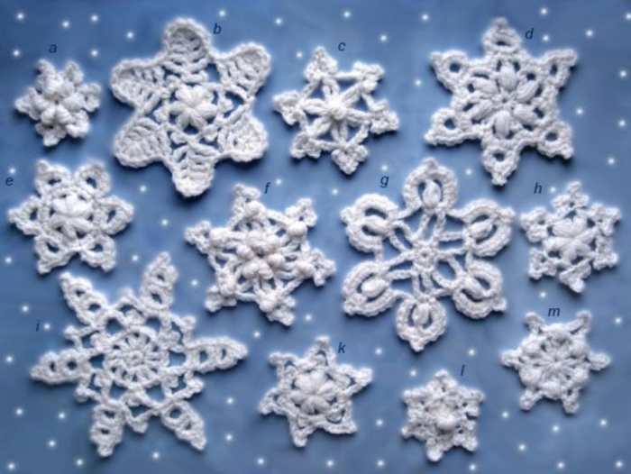 Crochet Snowflake : Christmas craft ideas: Crochet snowflakes, free crochet pattern