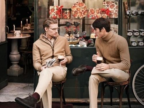Классическая мода Мужская двубортный пиджак куртка Slim (Черный Хаки.
