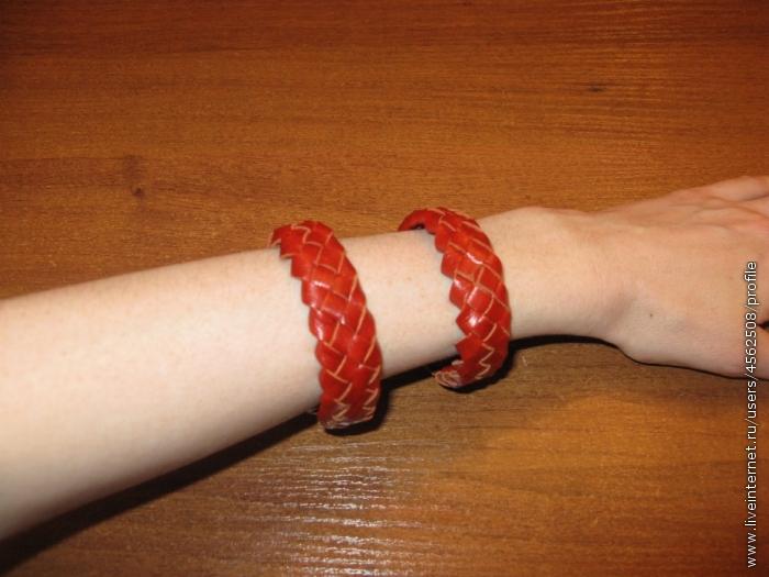 Фенечки из кожи для мужчин своими руками