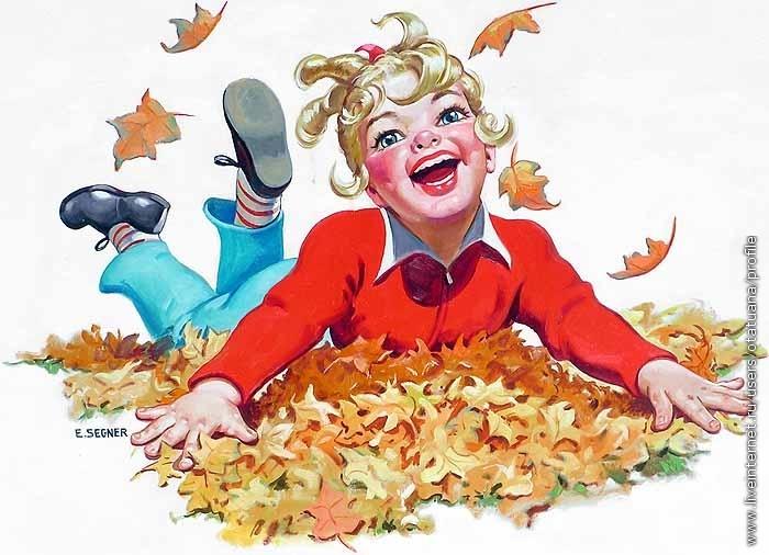 схемы для вышивки осень