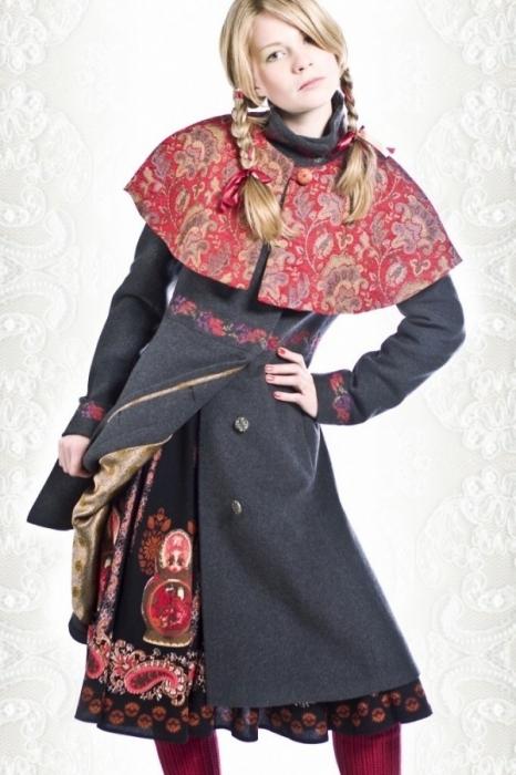Как старое пальто обновить