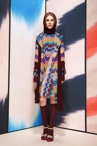 покажет вам, какова будет мода осень 2011 одежда от Missoni.