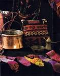 Плоские фигурки из бисера, схемы плетения к ним.  Схема мексиканского кактуса из бисера у народов севера.