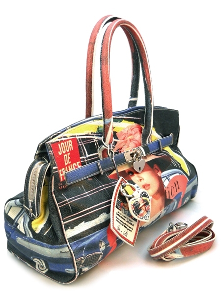 Самая ожидаемая новинка - эксклюзивные сумки Massimo Trulli.