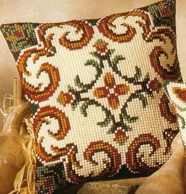 свой цитатник или сообщество!  Вышитые подушки - идеи для интерьера.  Скачать подборку полностью с Deposit.