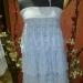 платье свадебное(выполнено из шелка)