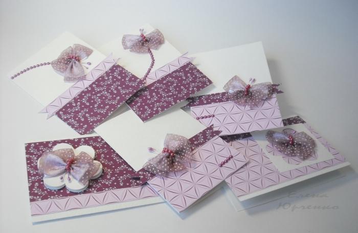 Галстук для открытки своими руками