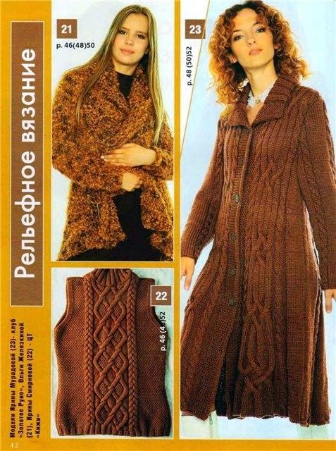 Пальто спицами - Новелла