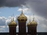 Золотые купола...