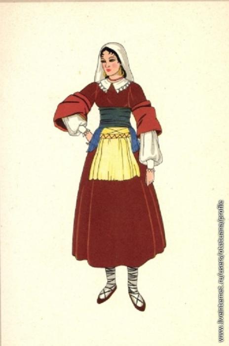 Костюм Женский Италия