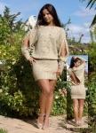 Платьеэксклюзивное вязаное  с разрезами