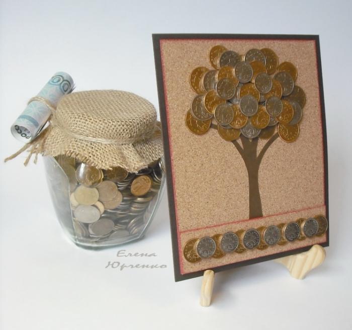 Подарок своими руками девушке из дерева