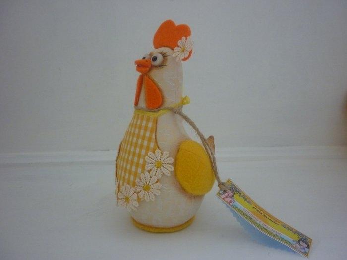 Как сделать курицу из ткани