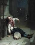 Augustus Edwin Mulready (1844-1905) A Tired Minst