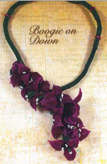 лепестки из бисера, подробные схемы из бисера, как плести из бисера цветы.