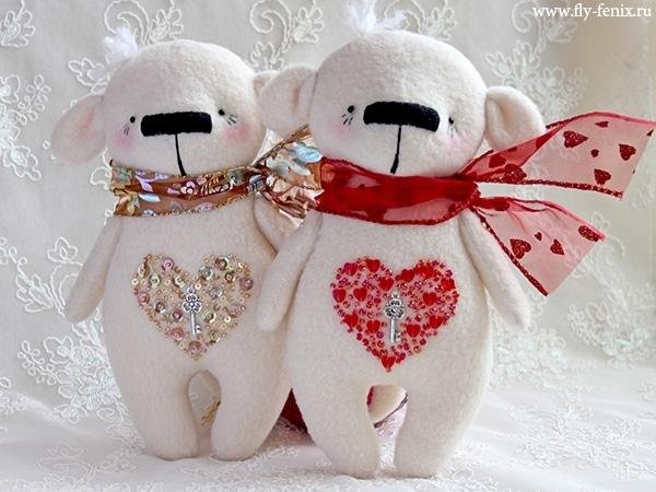 Игрушки своими руками к дню святого валентина