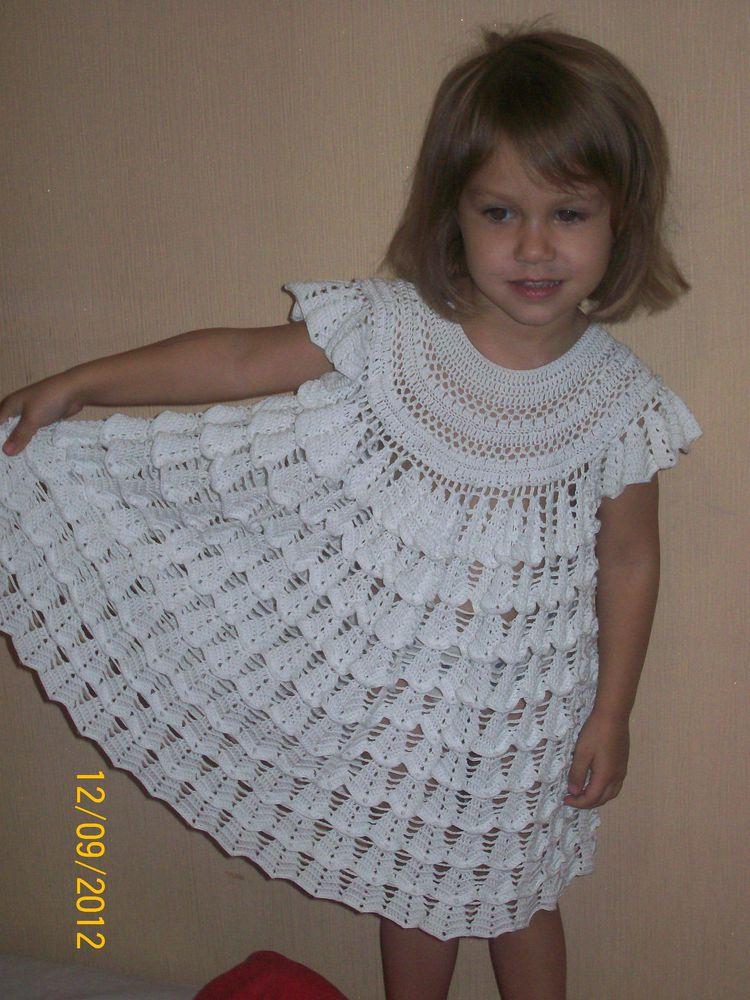 Озорной колокольчик платье крючком