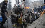 [+] Увеличить - Ситуация в Киеве. Jeff J Mitchell/Getty